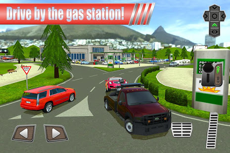 Aperçu Gas Station: Car Parking Sim - Img 1