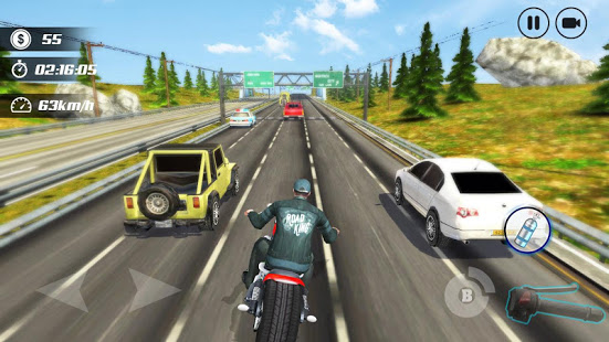 Aperçu Highway Moto Rider - Traffic Race - Img 3