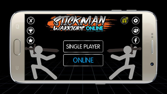 Aperçu Stickman Warriors Online : Epic War - Img 1