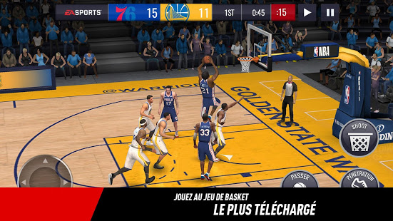 Aperçu NBA LIVE Mobile Basket-ball - Img 1