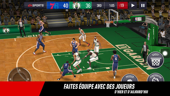Aperçu NBA LIVE Mobile Basket-ball - Img 2