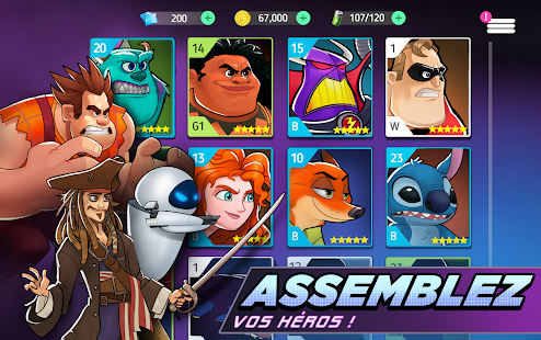 Aperçu Disney Heroes: Battle Mode - Img 2